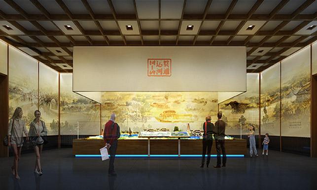 北京郭守敬纪念馆今日开门迎客,电子沙盘点亮大运河18水闸